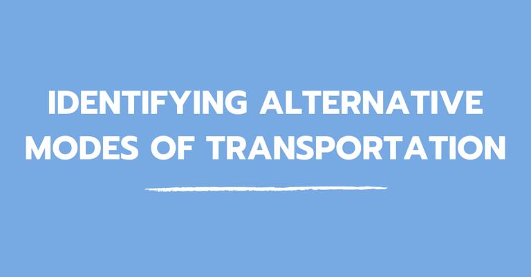 blog_identifying_alternative_modes_of_transportation