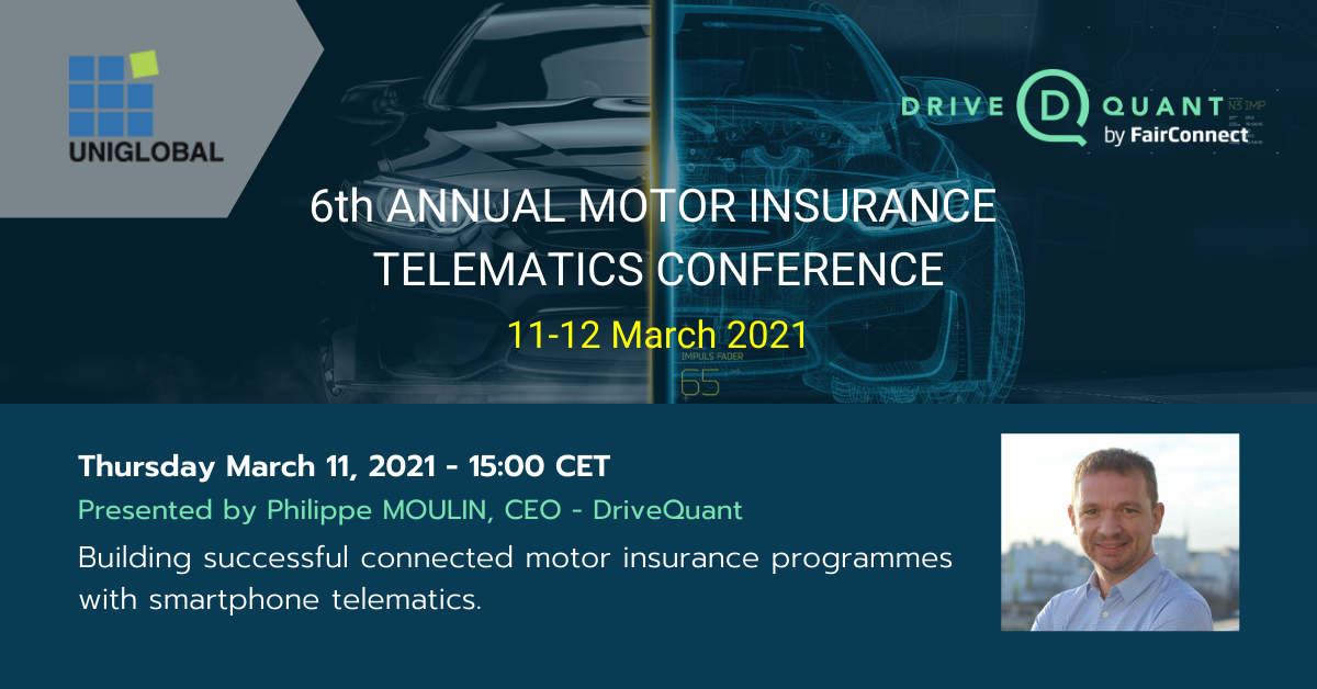 Attend our session and connect with us at the 6th Motor Insurance Telematics Conference (virtual)