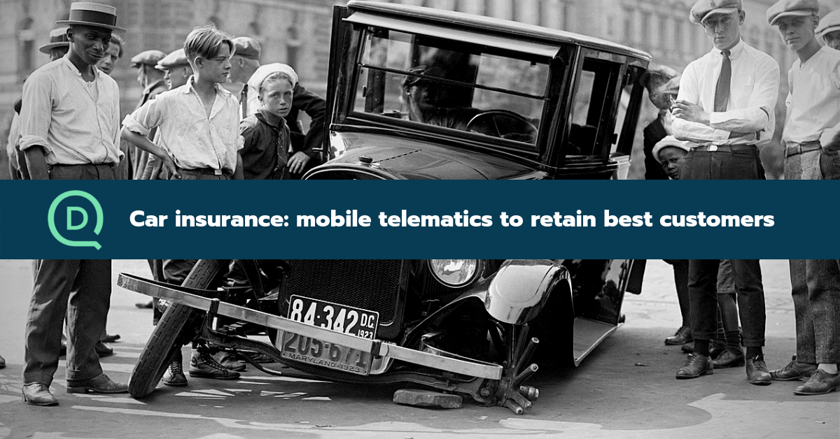 Car insurance: mobile telematics to retain your best customers