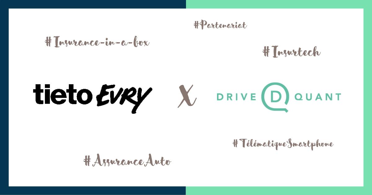 TietoEVRY intègre la télématique smartphone DriveQuant à son offre d'assurance auto