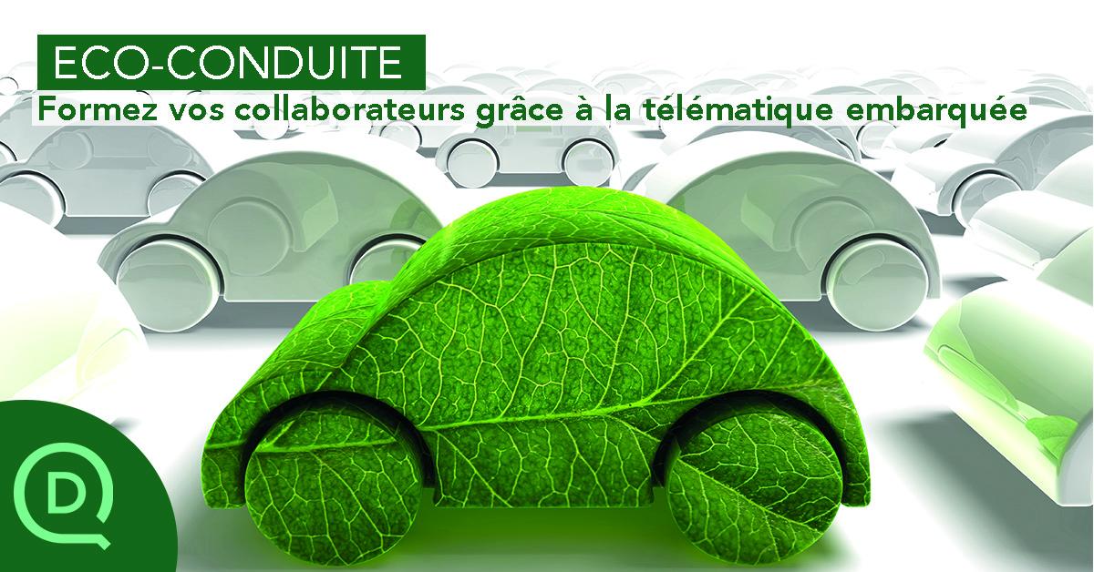 Formez vos collaborateurs à l'éco-conduite avec la télématique embarquée