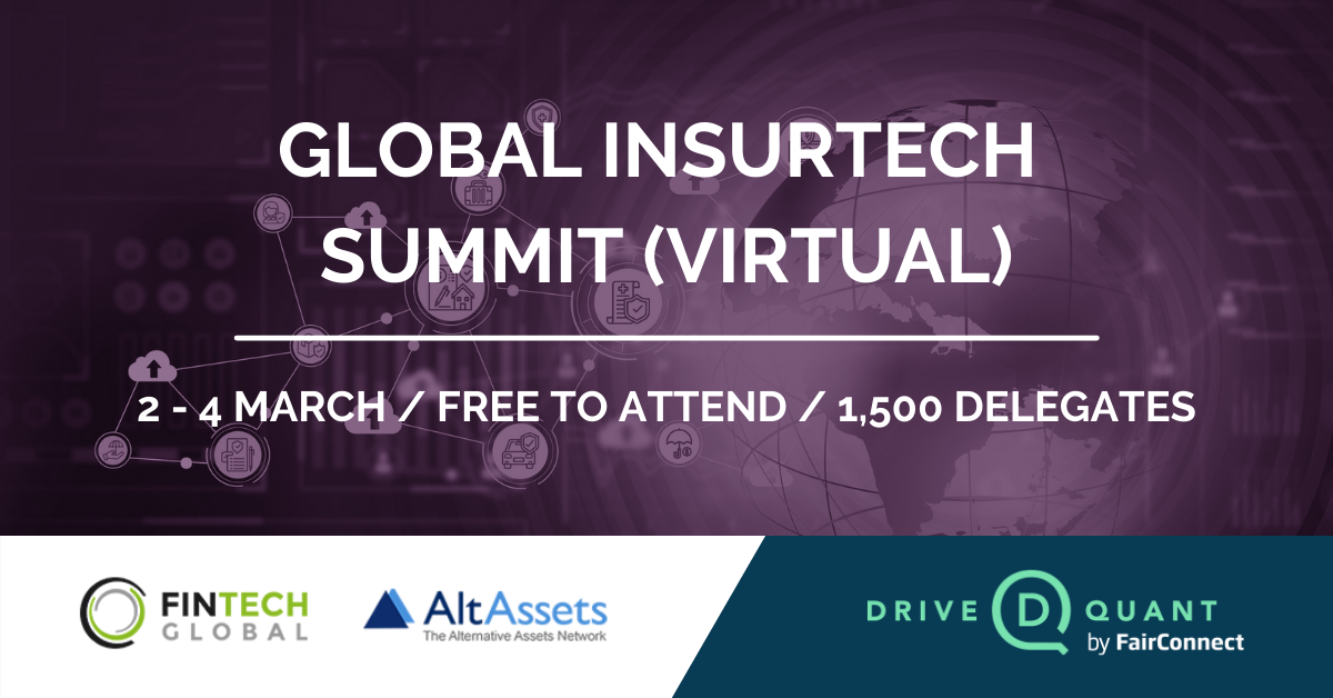 Meet us at the Global InsurTech Summit (virtual)