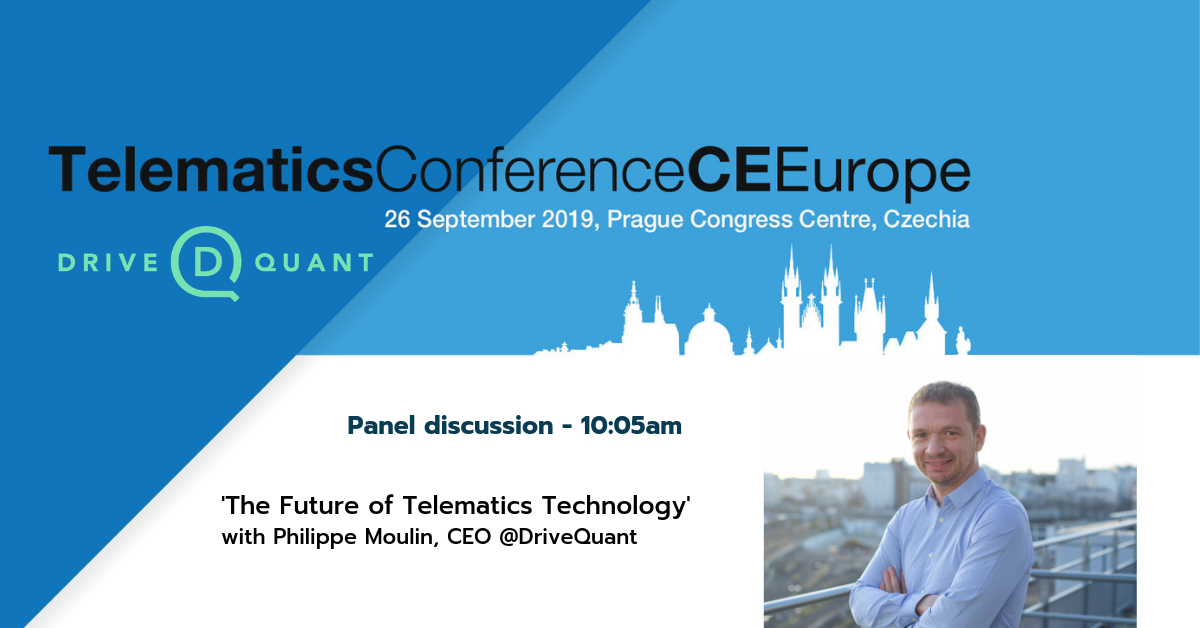 DriveQuant will attend the Telematics Conference CE Europe (Prague) to discuss the future of telematics technology