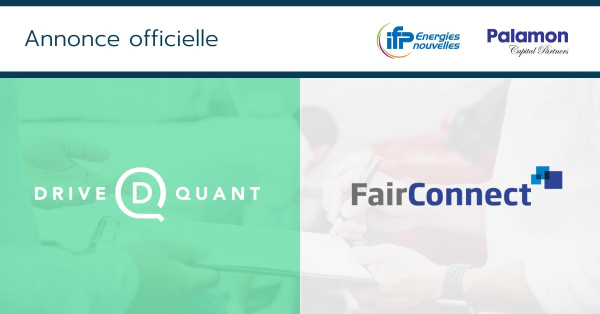 DriveQuant et FairConnect s'unissent pour accélérer le déploiement de solutions pour l'assurance auto connectée en Europe