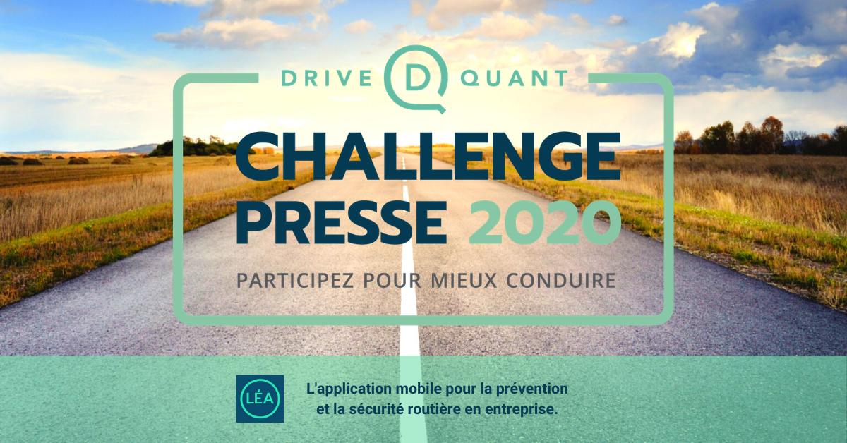 Challenge Presse 2020 : quel journaliste sera le plus vertueux sur la route ?