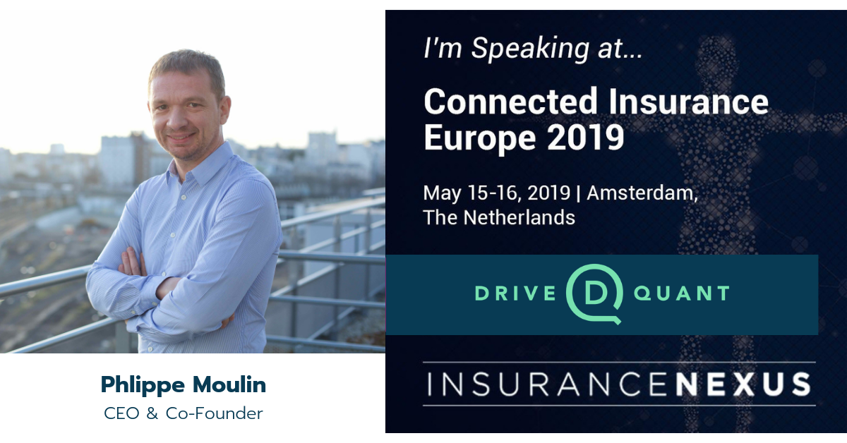 DriveQuant will be sponsoring Connected Insurance Europe 2019 in Amsterdam