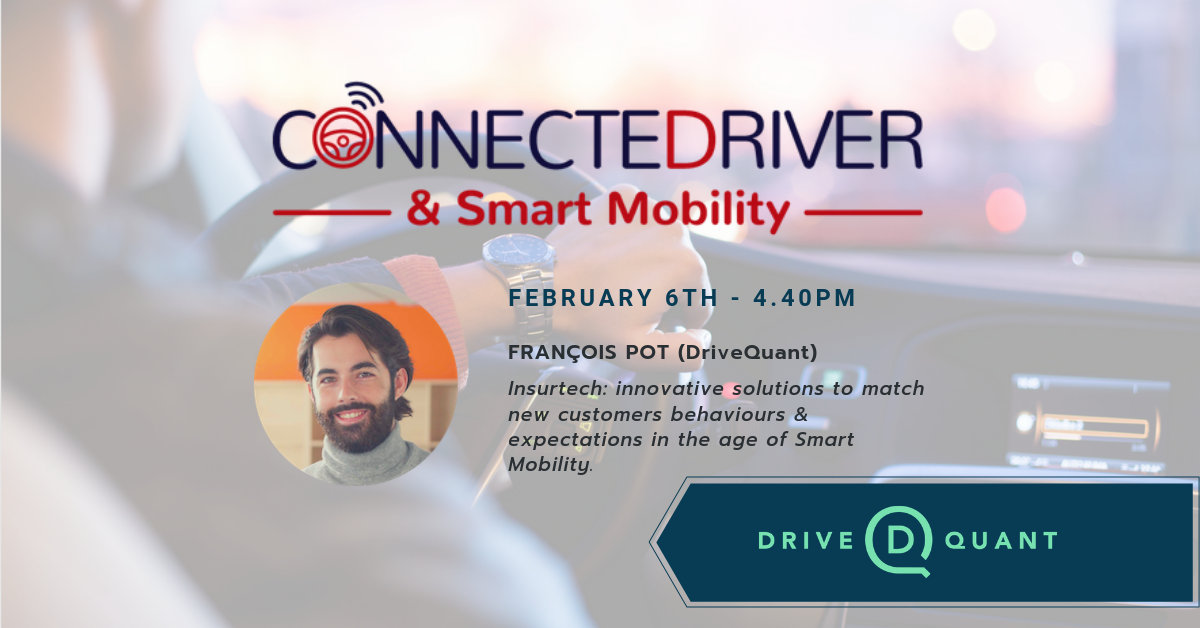 ConnecteDriver & Smart Mobility conference in Brussels with François Pot