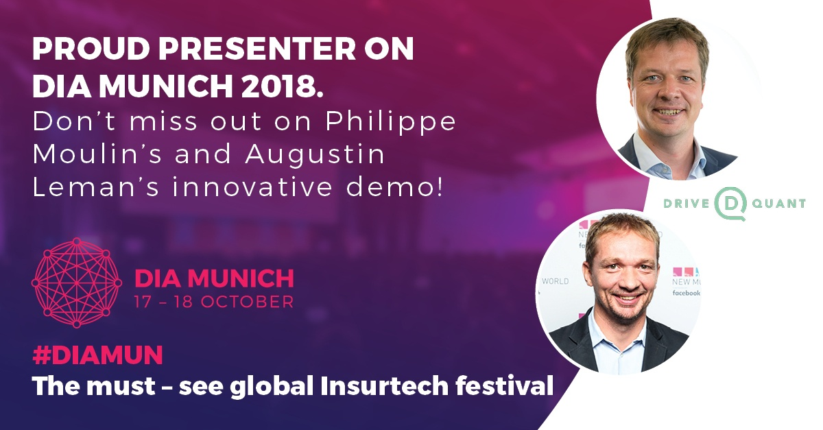 DIA Munich 2018: DriveQuant will be presenting a live demo of the MOTOCOACH app