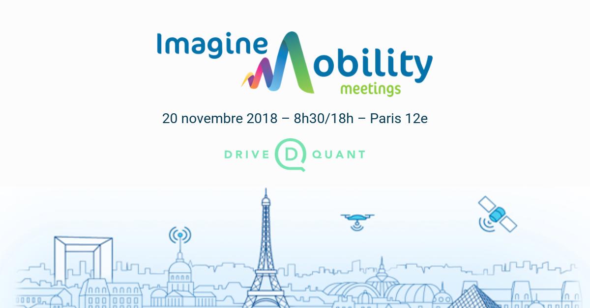 DriveQuant participera à la 8ème édition des Imagine Mobility Meetings (Mov'eo)