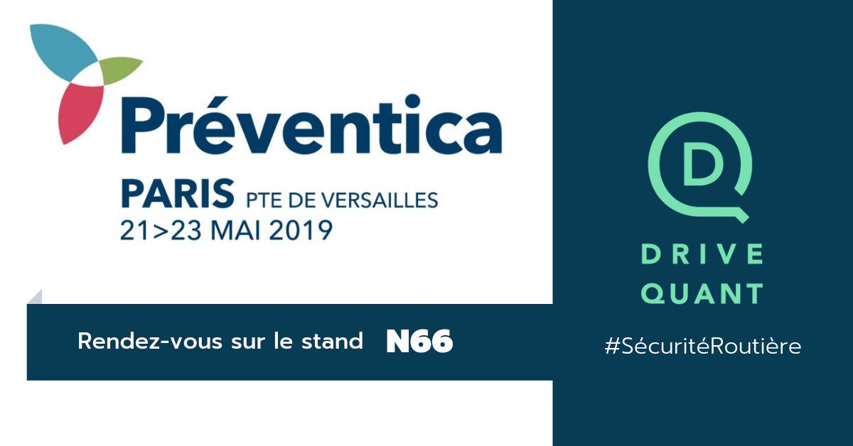 Rejoignez-nous sur Préventica (Paris) sur le thème de la Sécurité Routière au Travail