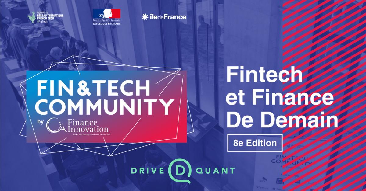 Rencontrez DriveQuant lors de la 8e édition de Fin&Tech Community