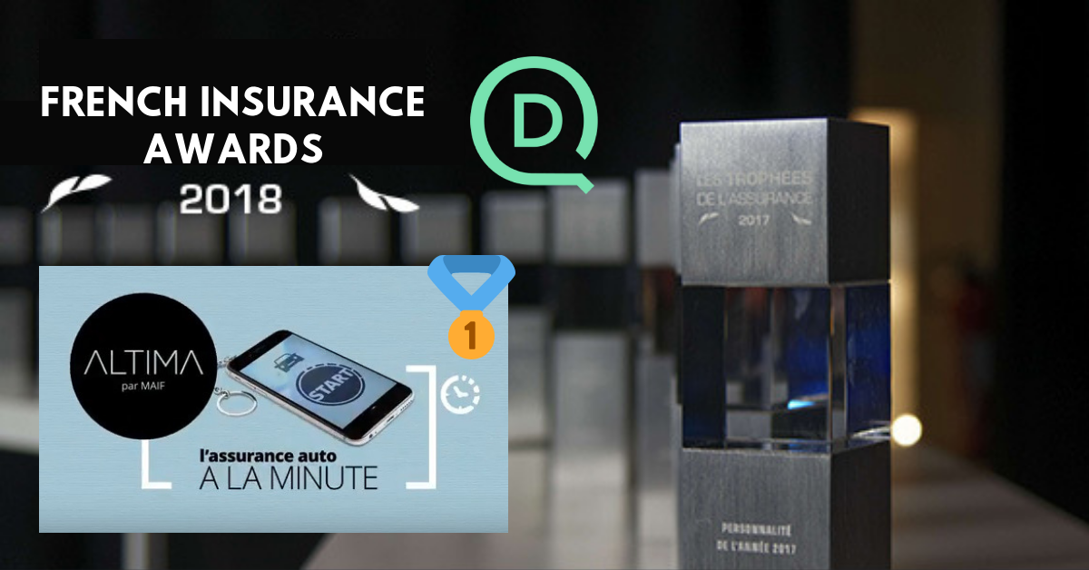French Insurance awards: two trophies for world first pay-per-minute car insurance by Altima enabled by DriveQuant's technology