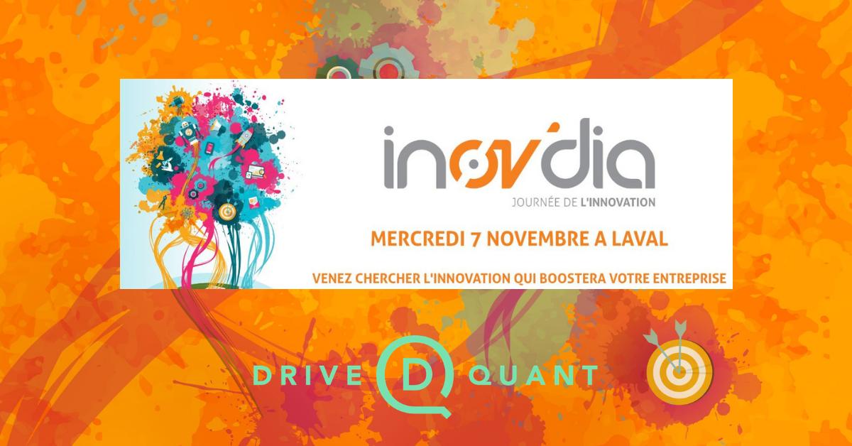 DriveQuant invité de la journée de l'innovation INOV'DIA 2018