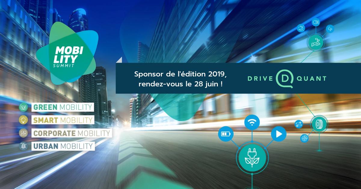 DriveQuant sera sponsor de l'édition 2019 du Mobility Summit (Luxembourg)