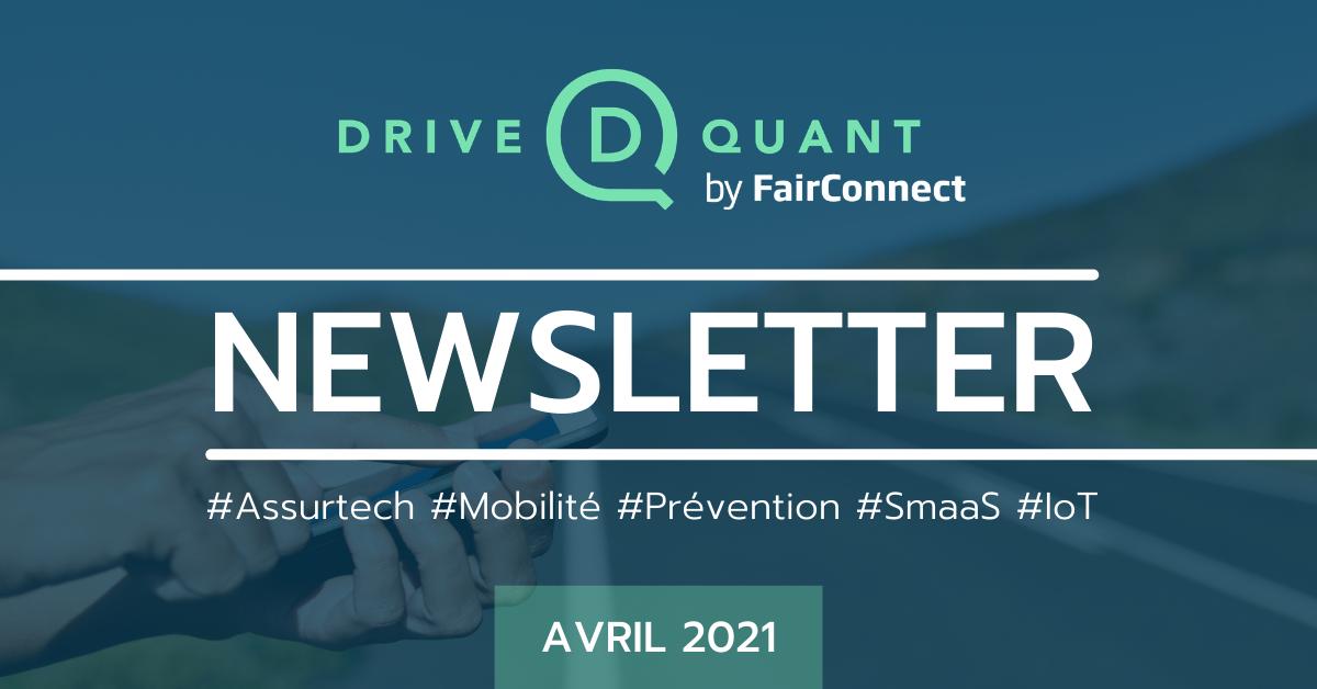 [Newsletter] Découvrez l'évolution de notre score de conduite distraite et l'interview vidéo de Philippe Moulin (CEO de DriveQuant)