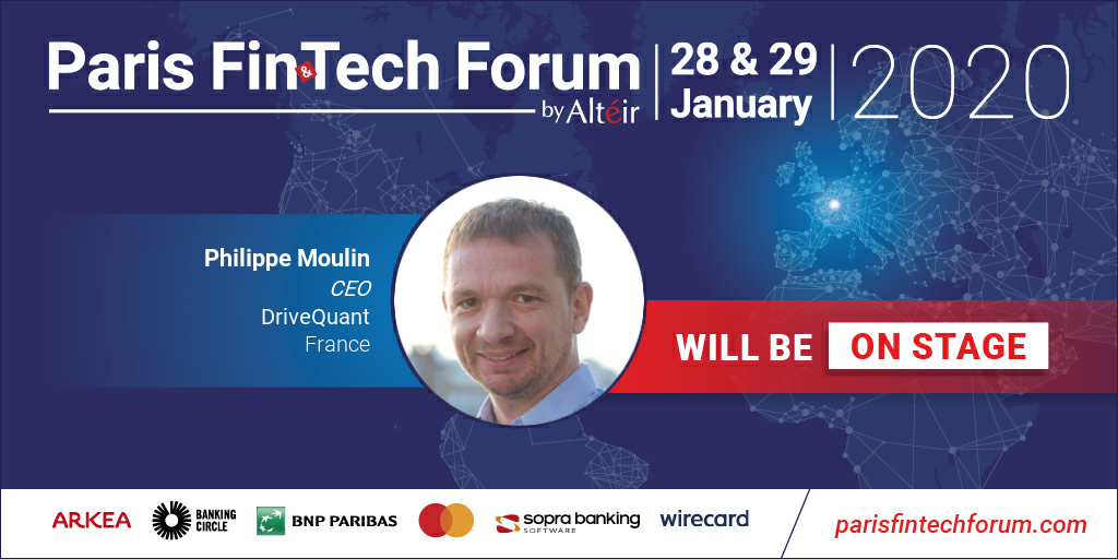 DriveQuant invited to speak on stage at the Paris Fintech Forum 2020