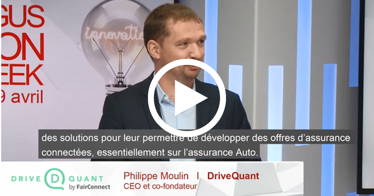 Argus Innovation Week : retrouvez l'interview de Philippe Moulin, CEO de DriveQuant