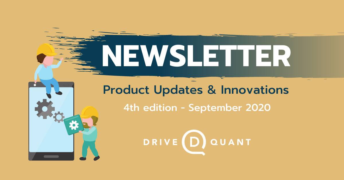 [Product Updates] Identifying alternative modes of transportation, ranking drivers with DriveKit and exploiting geo-zones