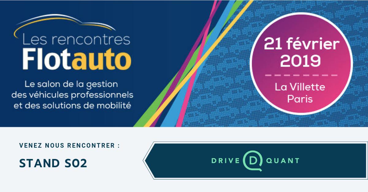 DriveQuant présent aux Rencontres Flotauto 2019