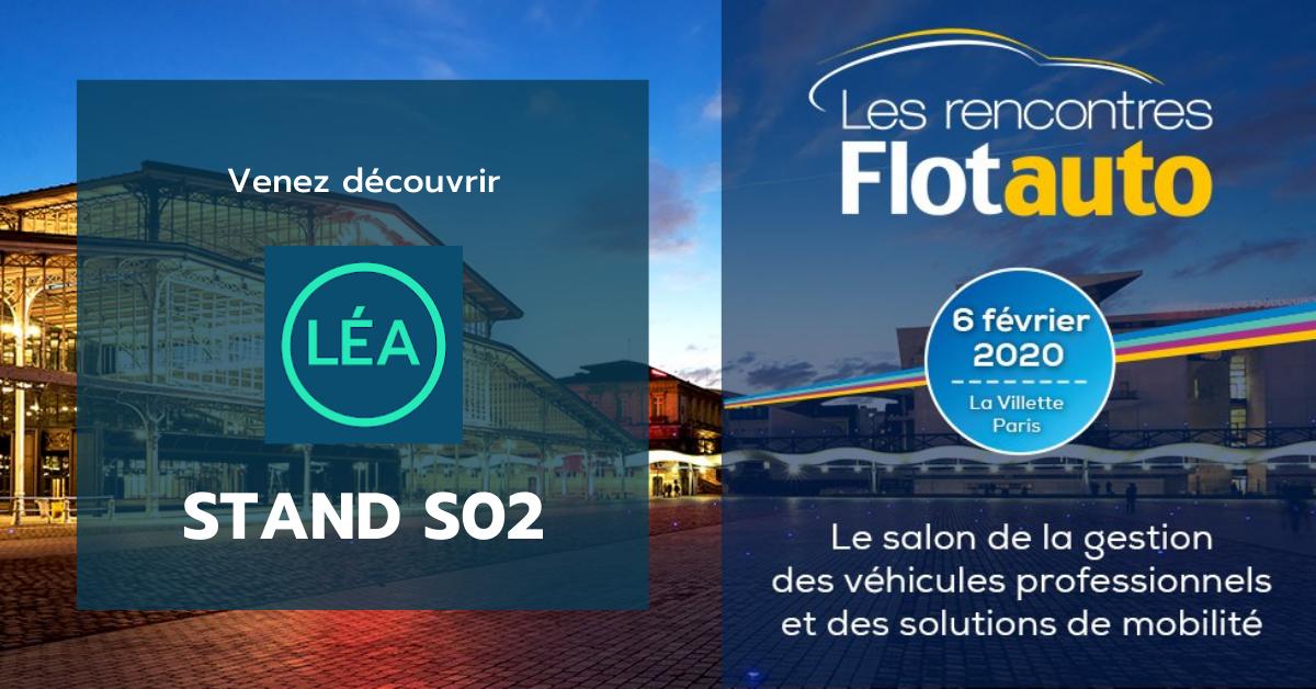 Rendez-vous aux Rencontres Flotauto pour découvrir LÉA by DriveQuant