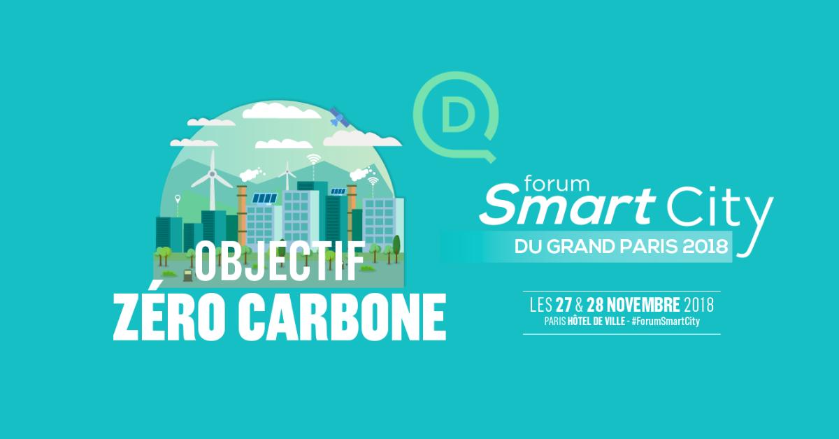 Rendez-vous au Forum Smart City du Grand Paris 2018