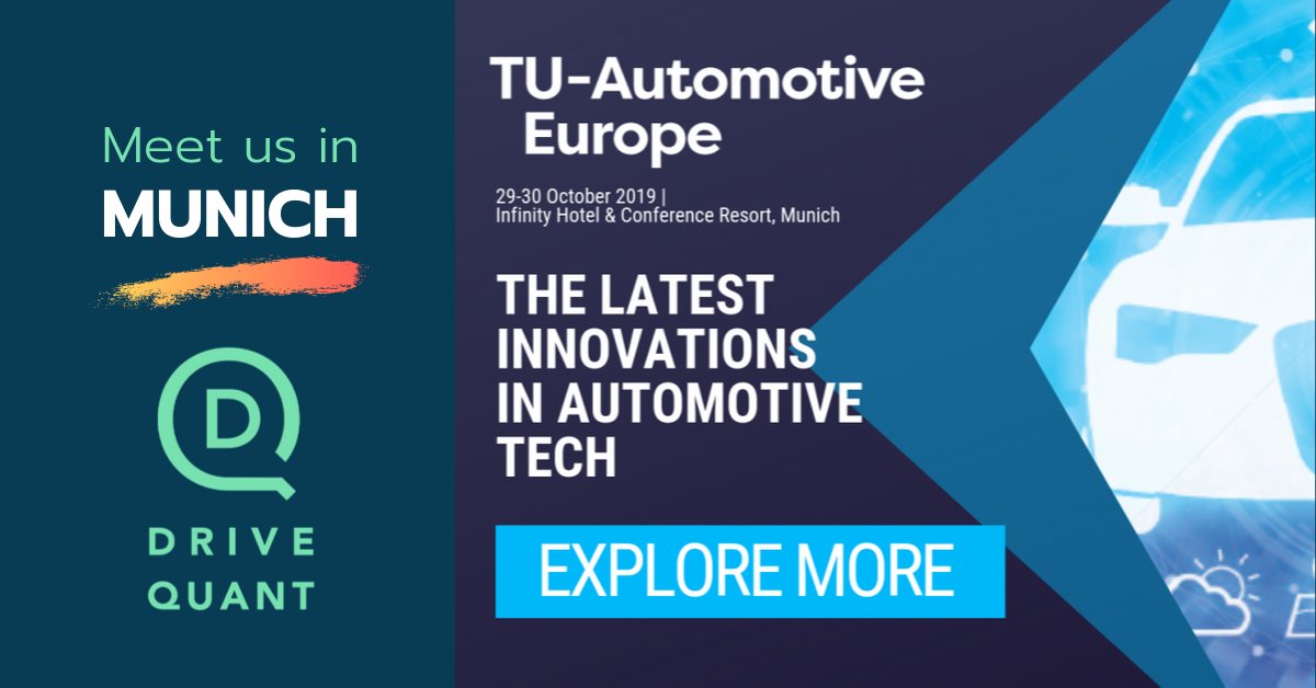 Meet us at TU-Automotive Europe in Munich