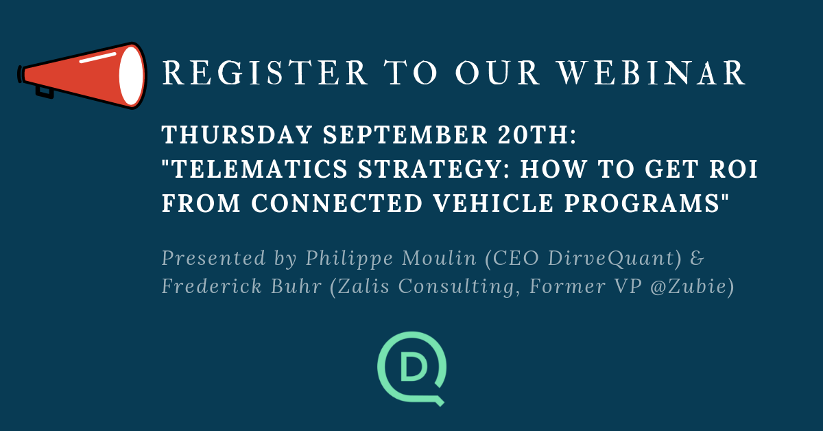 [WEBINAR] Telematics Strategy: how to get ROI from connected vehicle programs